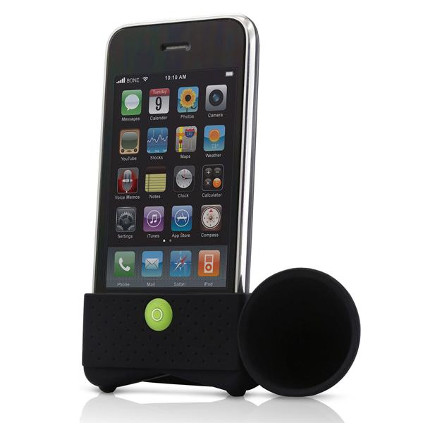 q-horn-iphone-speaker-zwart