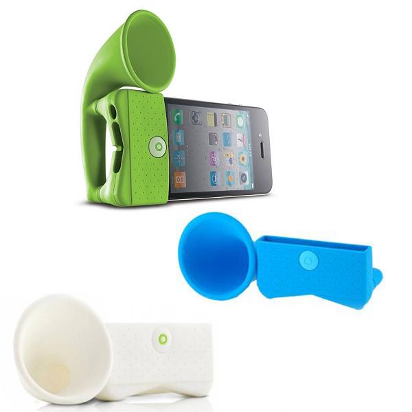 q-horn-iphone-speaker-groen